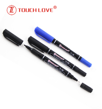 Eco-friendly Permanent Two Tips CD/DVD Marker,dual tip permanent marker for CD