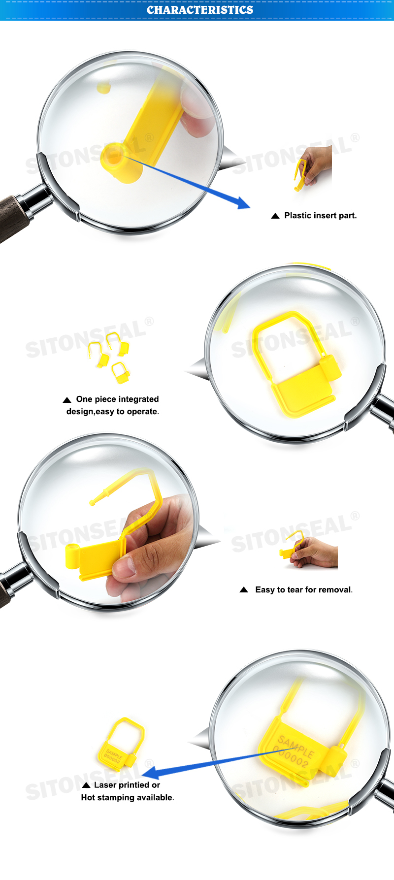 Easy Operation Padlock Seal