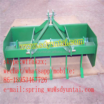 8 Ft. tractor 3 point rear mounted box grader blade