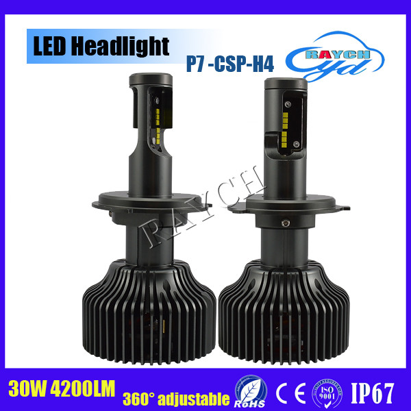 Top seller 4200lm H4 H13 9004 H13 H7 H8 H9 H11/H16 9005 9006 led headlight bulbs conversion kit