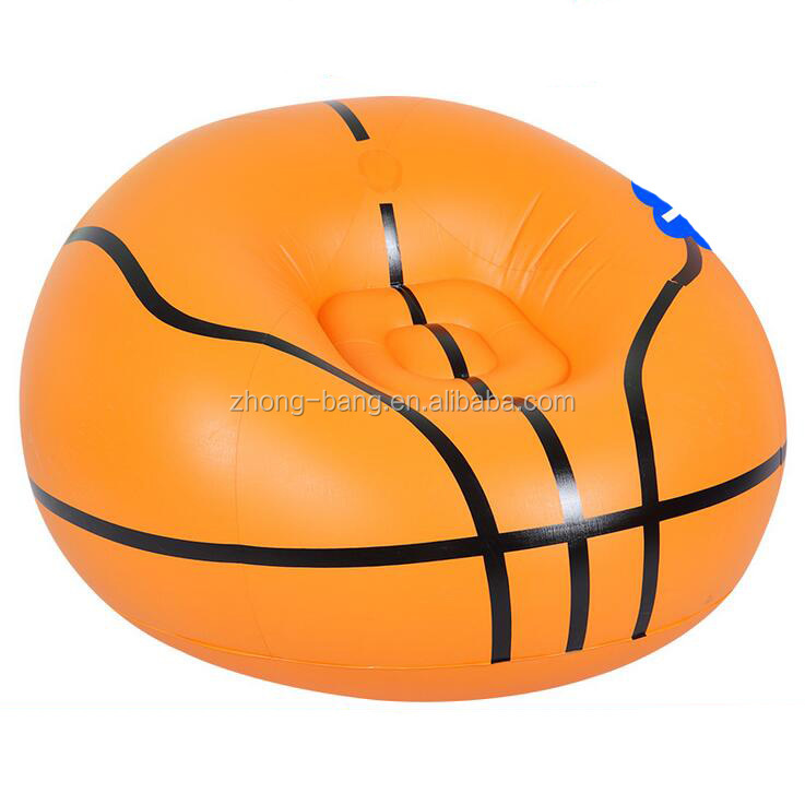 simple design leisure giant plastic inflatable sofa