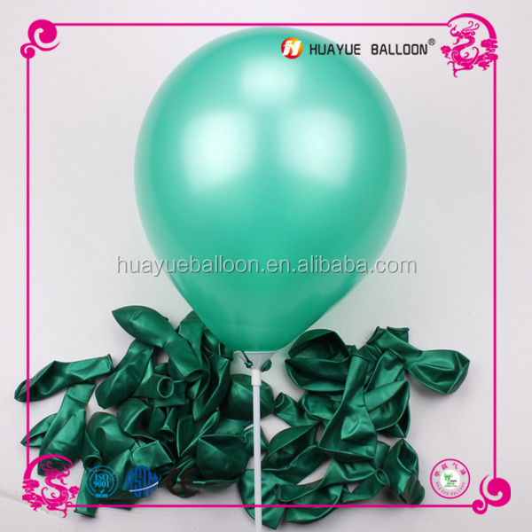 China balloon factory supply inflatable balloons pearl color