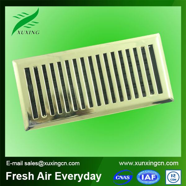 Hvac Return Air Grill : Air conditioning decorative return grille metal floor