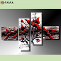 FG-02358 Handmade oil painting beautiful flower paintings