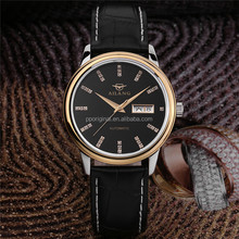 Promotional mens leather watch from experienced watch manufacturer name brand wholesale watches made in china