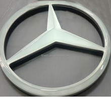 High quality anti-wind rhombus colorful thermal curing metal car logo