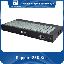 Card remote control GSM SIMBANK 128/256 slots,simbank256,sim bank 128,voip soft switch