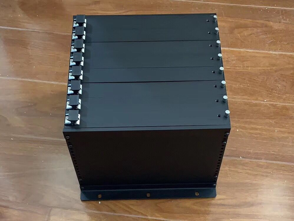 10 inch 6u deep 210mm server chassis subrack metal aluminum enclosure computer case match with cabinet
