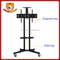 "For TVs up to 32""-70"" screen movable and free standing vertically lift up flat screen up and down tv mount"