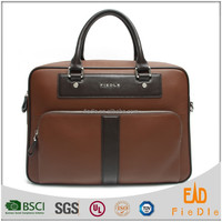 CSLRB137-001 2015 good quality classic Leather Briefcases For Business Man