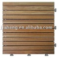Acacia outdoor decking with PE base--A12P3030PH