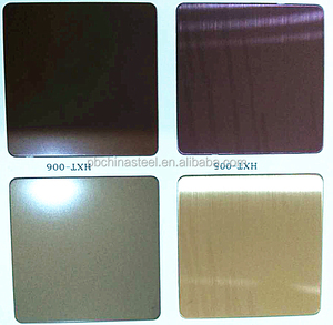 China high quality price mirror 201 304 316 316l decorative color stainless steel sheet