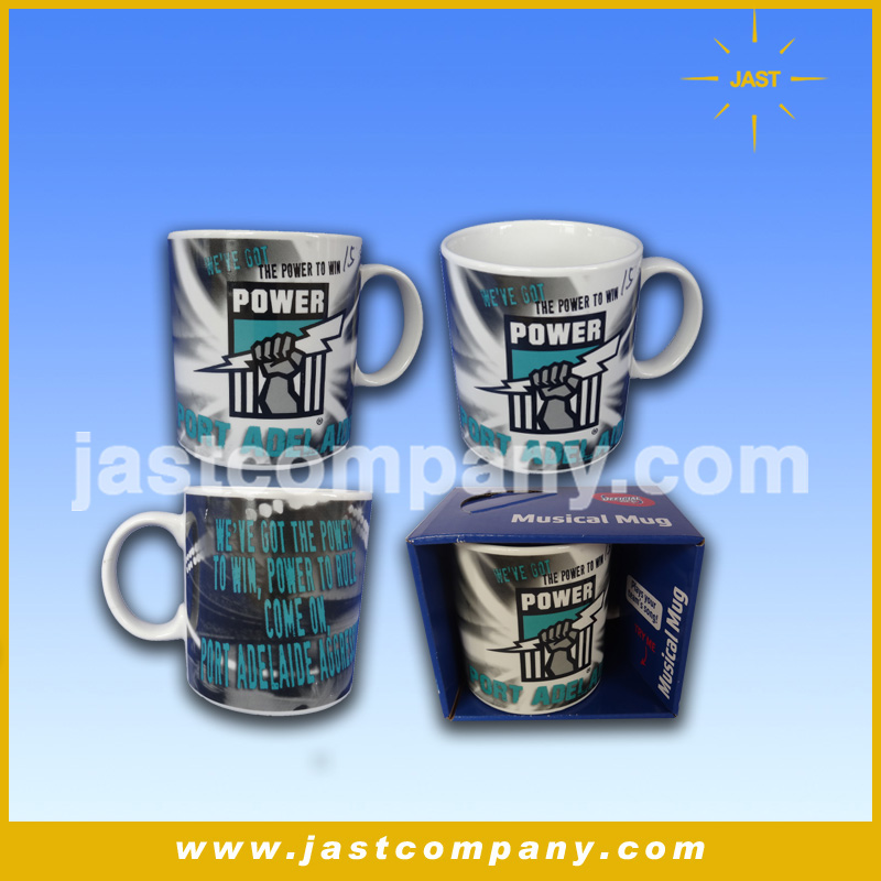 Jast creative fashion best design gift item custom musical mug ceramic as wedding favors and gifts for guests