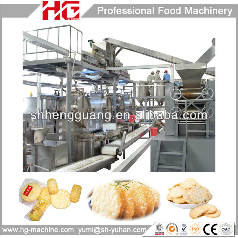 High quality HG rice cake/cookie making machine