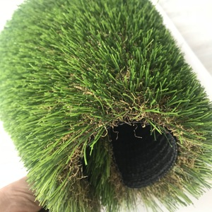 20mm 35mm Pile Height Outdoor Garden Fake Turf Artificial Carpet Grass