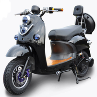 500W Powerful Brushless Hybrid Cheap Electric Motorcycle
