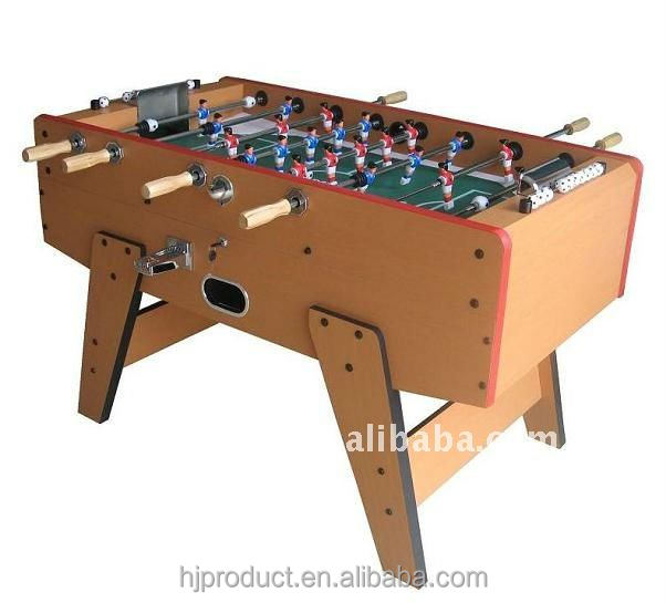 manufacturer price MDF coin operated table football kicker soccer table