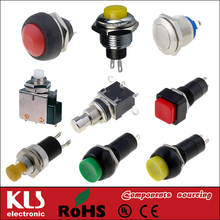 Good quality push button switch 20a UL VDE CSA CE ROHS 147 KLS
