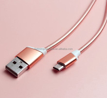 top selling products in alibaba Factory Supplier type-c data cable metal 2.4A quick charge USB cable manufactured in China 2017