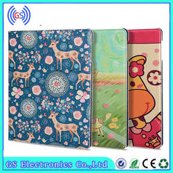 For iPad air 2 Case , For iPad 6 Case , Tablet Cover PU Leather Flip Case For iPad 6