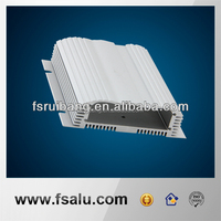 supply front and back panel pcb custom aluminum housing