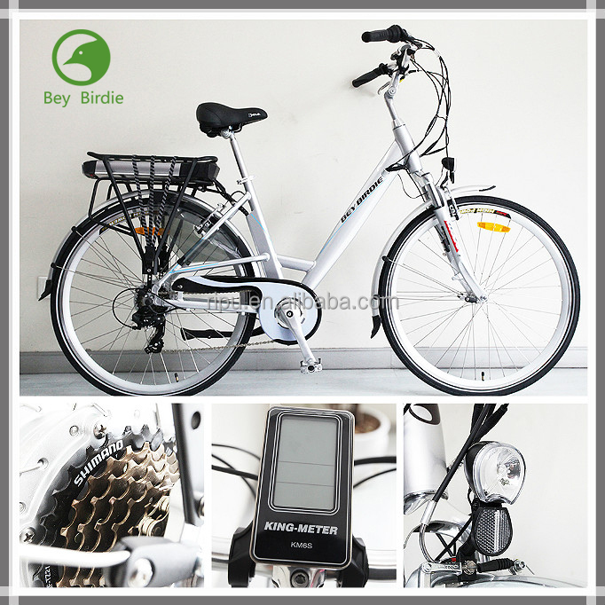 New e-bikes 700C li-ion battery PAS system electric bicycle city bikes