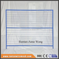 6' x 10' construction temporary welded wire mesh fence panel