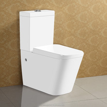 Two-Piece Ceramic Western Toilet