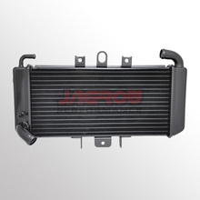 All aluminum motorcycle spare parts radiator for YAMAHA FZS600 Fazer 98-03