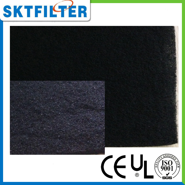 Activated Carbon Synthetic Filter Media Roll used for pre filter