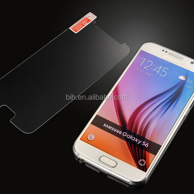 High quality tempered glass screen protector For Samsung s6 edge