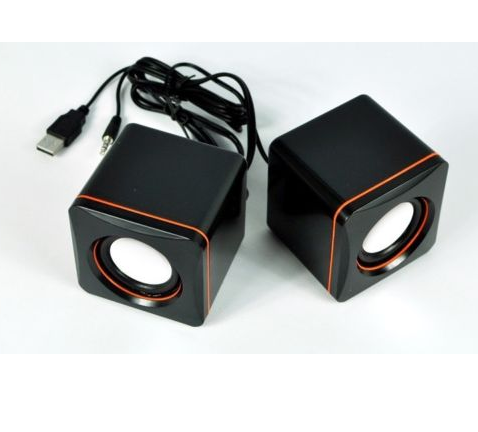 mini music usb 2.0 computer audio speaker rechargeable speaker