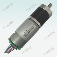 36mm geared dc motor 12v 25nm with optical encoder