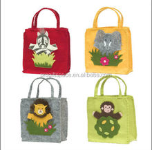 china hot sale 2017 high quality new products eco friendly practical house decoration handmade small felt cheap promotion bag