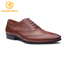 Latest Custom Brand Name New Style Men's Fashion All Real Cow Leather Dress Shoes