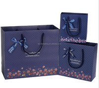 cheap china gift art paper bag manufactures bags with bowknot