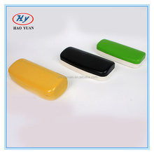 candy color PU/PVC wrapped metal glasses case, hard spectacle eyewear case