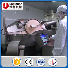 High speed meat cutting machine, mince meat bowl cutter machine, meat bowl cutter