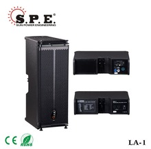 LA-1 spe audio dual 6.5 inch mini line array cabinet