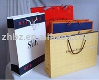 2012 fashion shopping paper bag