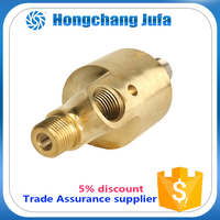 China hydraulic power unit high rpm seal t connector pipe rotary joint