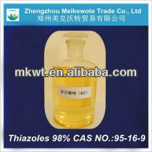 photographic material benzothiazole