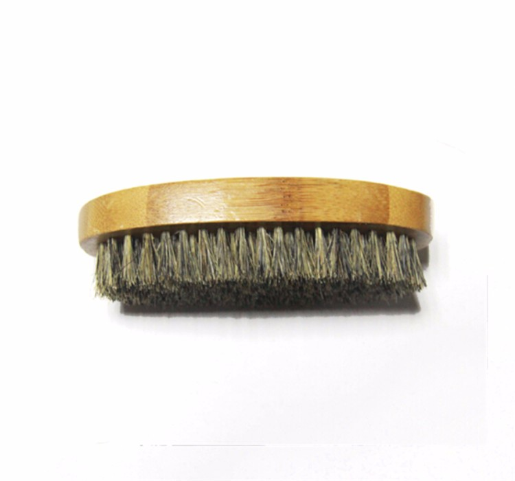 new design OEM beard kit bamboo bristle beard brush