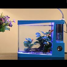 2015 New Design fake fish aquarium with CE Rohs