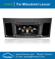 A8 Chipset 8 inch Multi-touch Screen Car DVD For Mitsubishi Lancer 2010-2011 With GPS Radio Bluetooth TV Ipod Free Map