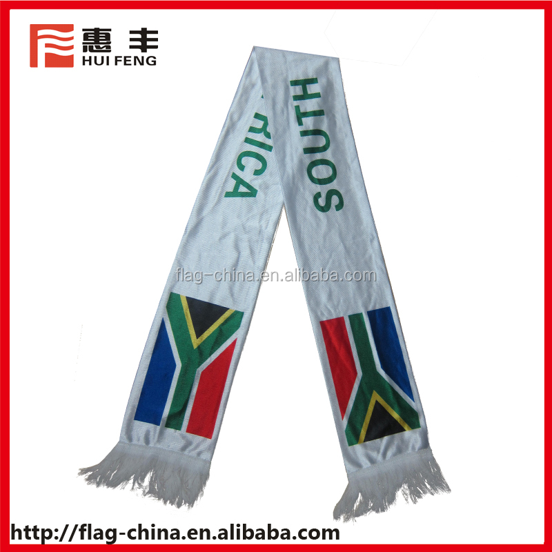 custom print football scarf