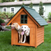 Apex roof wooden dog kennel new pets product