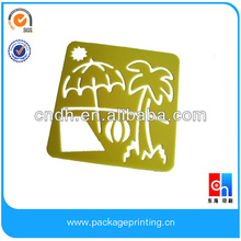 kids drawing stencil and template