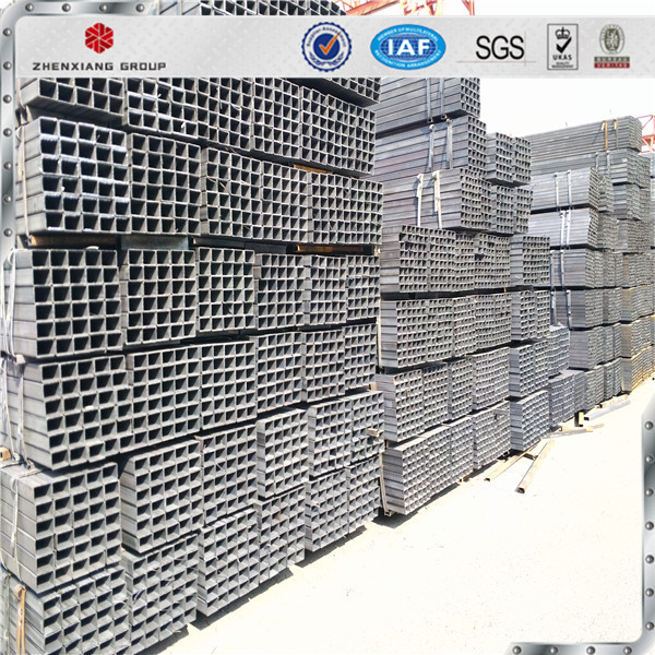 Q195 Q235 hollow rectangular steel tube