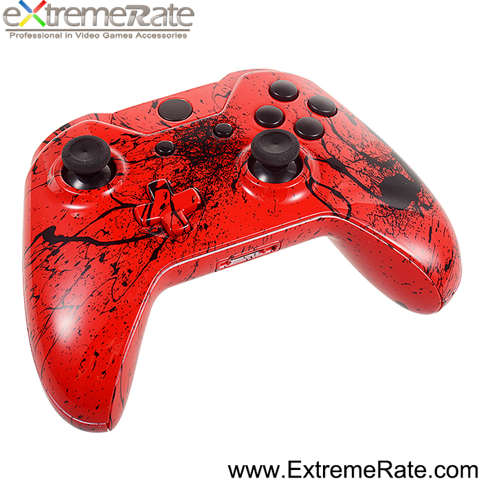 Full Housing Case Shell Cover for XBOX ONE Controller Joystick Replacement Cover Red